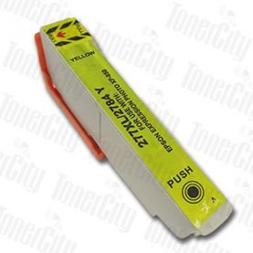 Epson 277XL (C13T278492) Yellow High Yield Compatible Inkjet Cartridge
