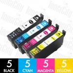 Epson C13T356192-C13T356492 (802XL) High Yield 20 Pack Compatible Inkjet Cartridge Combo