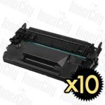 HP 26X (CF226X) Black High Yield 10 Pack Compatible Toner Cartridge