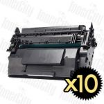 HP 87A (CF287A) Black 10 Pack Compatible Toner Cartridge