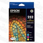 Epson 252 (C13T252692) Value Pack Genuine Inkjet Cartridge