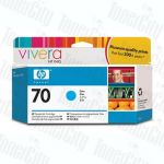 HP 70 (C9452A) Cyan Genuine Inkjet Cartridge