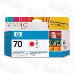 HP 70 (C9456A) Red Genuine Inkjet Cartridge