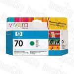 HP 70 (C9457A) Green Genuine Inkjet Cartridge