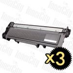 Brother TN-2350 3 Pack Compatible Toner Cartridge