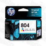 HP 804 (T6N09AA) Colour Genuine Inkjet Cartridge