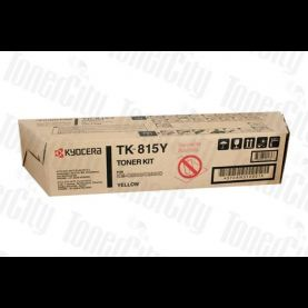 Kyocera TK-815Y Yellow Genuine Toner Cartridge