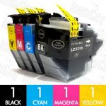 Brother LC-3319XL 4 Pack Compatible Ink Cartridges Combo
