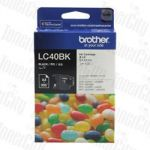 Brother LC-40BK Black Genuine Inkjet Cartridge