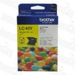Brother LC-40Y Yellow Genuine Inkjet Cartridge