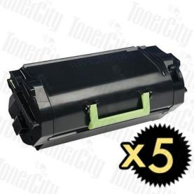 Lexmark 52D3H00 (MS810/MS811/MS812) High Yield 5 Pack Compatible Toner Cartridge