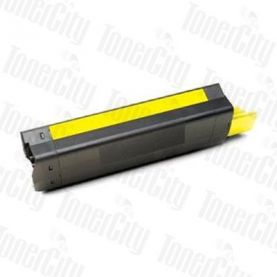 OKI 42127409 (C5100/C5200/C5300/C5400/C5400N) Yellow Compatible Toner Cartridge
