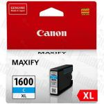 Canon PGI-1600XLC Cyan High Yield Genuine Inkjet Cartridge