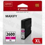 Canon PGI-2600XLM Magenta High Yield Genuine Inkjet Cartridge