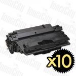 HP 70A (Q7570A) Black 10 Pack Compatible Toner Cartridge