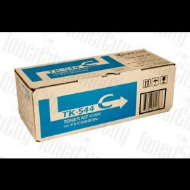 Kyocera TK-544C Cyan Genuine Toner Cartridge