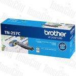 Brother TN-257C Cyan Genuine Toner Cartridge