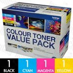 Brother TN-251 + TN-255 (N8AE00001) Value Pack Genuine Toner Cartridge Combo