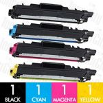 Compatible Brother TN-253 + TN-257 4 Pack Toner Cartridge Combo