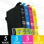 Epson 202XL High Yield 20 Pack Compatible Inkjet Cartridge Combo