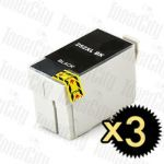 Epson 252XL (C13T253192) Black High Yield 3 Pack Compatible Inkjet Cartridge