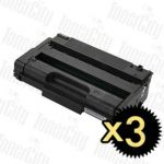 Compatible Ricoh 406517 SP3400HS 3 Pack Toner Cartridges