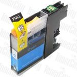 Compatible Brother LC-235XLC Cyan High Yield Inkjet Cartridge
