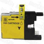Compatible Brother LC-73/LC-77XLY Yellow High Yield Inkjet Cartridge