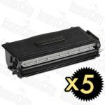 Compatible Brother TN-3060 5 Pack Toner Cartridge