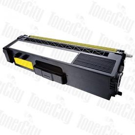 Compatible Brother TN-348Y Yellow Toner Cartridge