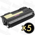 Brother TN-6600 5 Pack Compatible Toner Cartridge
