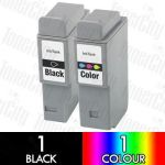 Canon BCI-24 2 Pack Compatible Inkjet Cartridge Combo