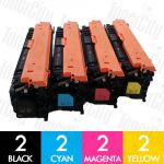 Canon CART-040II 8 Pack Compatible Toner Cartridge Combo
