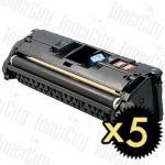 Canon CART-301BK Black 5 Pack Compatible Toner Cartridge