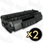 Canon CART-308 2 Pack Compatible Toner Cartridge