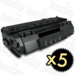 Canon CART-308 5 Pack Compatible Toner Cartridge