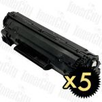 Canon CART-313 5 Pack Compatible Toner Cartridge