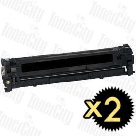 Canon CART-316BK Black 2 Pack Compatible Toner Cartridge