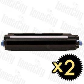 Canon CART-317BK Black 2 Pack Compatible Toner Cartridge
