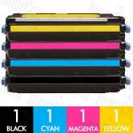 Canon CART-317 4 Pack Compatible Toner Cartridge Combo