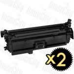Compatible Canon CART-323IIBK Black 2 Pack Toner Cartridge