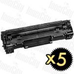 Canon CART-325 5 Pack Compatible Toner Cartridge