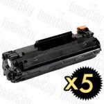 Canon CART-337 5 Pack Compatible Toner Cartridge