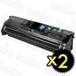 Canon EP-87BK Black 2 Pack Compatible Toner Cartridge