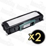 Dell 2230D 2 Pack Compatible Toner Cartridge