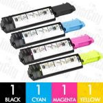 Dell 59210415 + 59210513-515 (3010) 4 Pack Compatible Toner Cartridge Combo