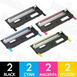 Dell 59211451-454 (1230C/1235CN) 8 Pack Compatible Toner Cartridge Combo