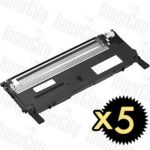 Dell 59211454 (1230C/1235CN) Black 5 Pack Compatible Toner Cartridge