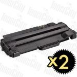 Dell 59211532 (1130/1130N/1133/1135N) High Yield 2 Pack Compatible Toner Cartridge