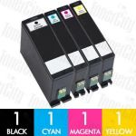 Dell Series 33/34 (V525W) Extra High Yield 4 Pack Compatible Inkjet Cartridge Combo